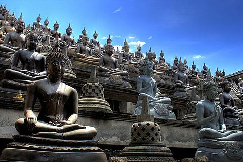 冈嘎拉马寺庙的图片