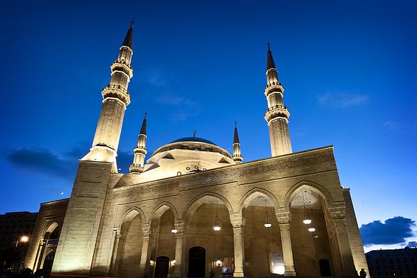 贝鲁特蓝色清真寺旅游图片