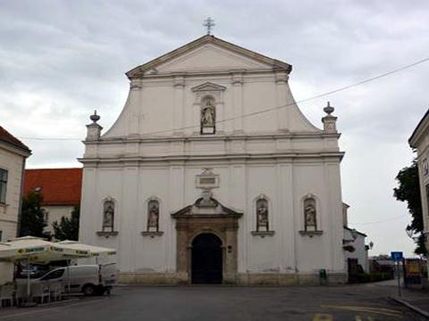 萨格勒布圣凯瑟琳教堂旅游景点图片