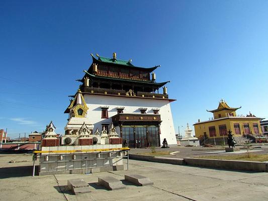 甘丹寺旅游图片