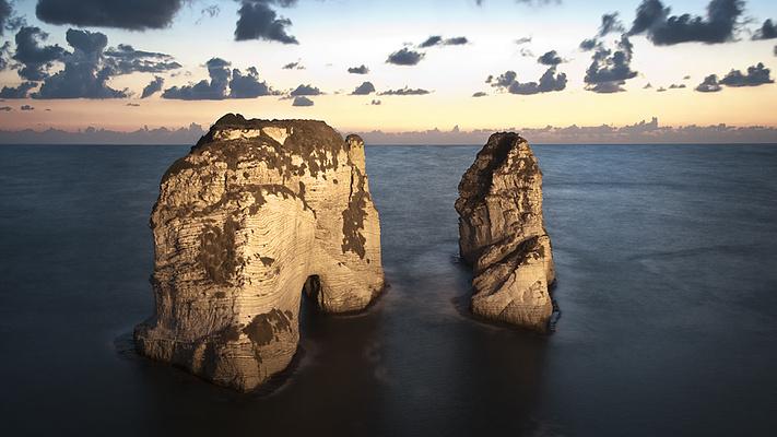 鸽子岩旅游图片