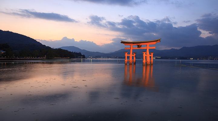 宫岛旅游图片