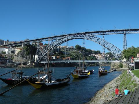 路易一世大桥旅游景点图片