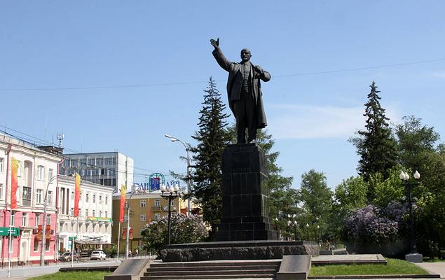 列宁纪念碑旅游图片