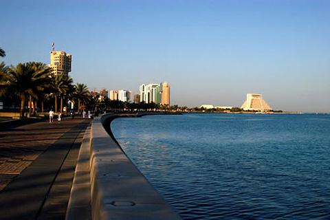 多哈滨海大道