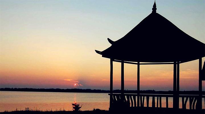 沅江胭脂湖旅游图片