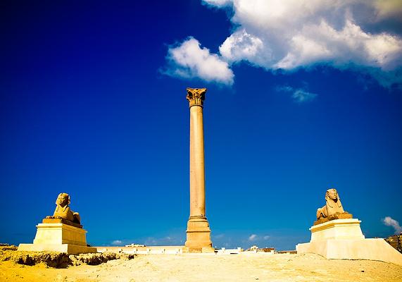 庞贝石柱 旅游图片