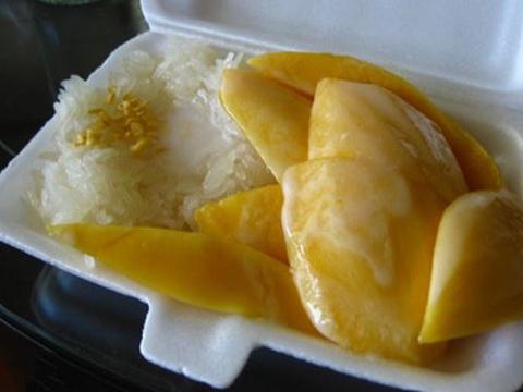 哲阿姨芒果糯米饭旅游景点图片
