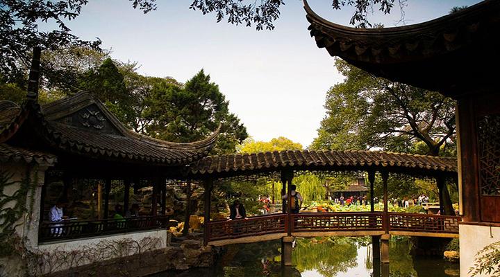 拙政园旅游图片