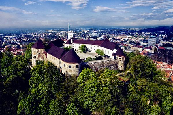 卢布尔雅那城堡旅游图片