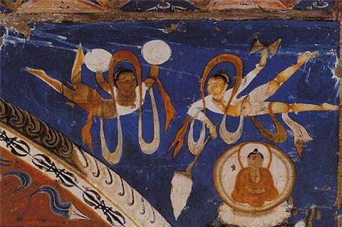 日土山洞古壁画