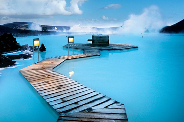 冰岛蓝泻湖旅游图片