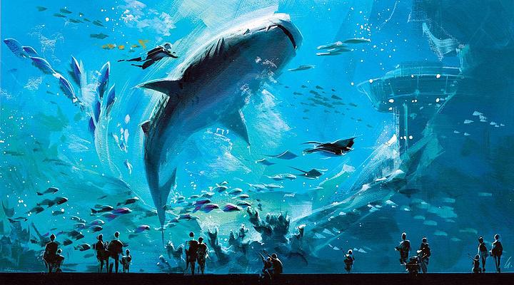 佐治亚州水族馆旅游图片