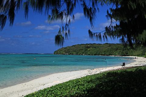 宝宝海滩的图片