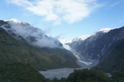 弗朗兹约瑟夫冰川的图片