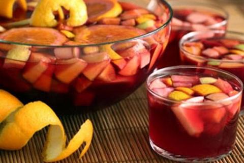 雪莉酒和橘子酒