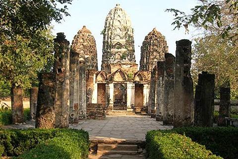 西沙外寺的图片