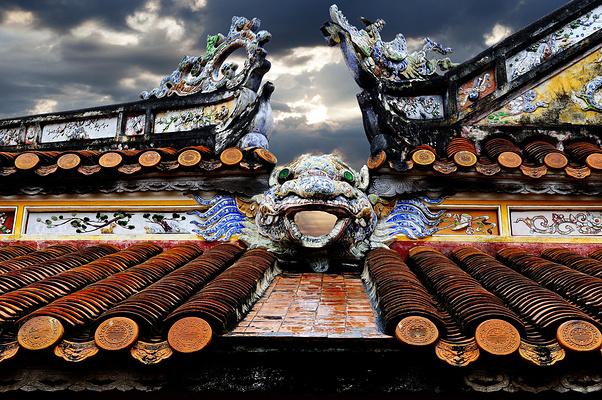 顺化皇城旅游图片