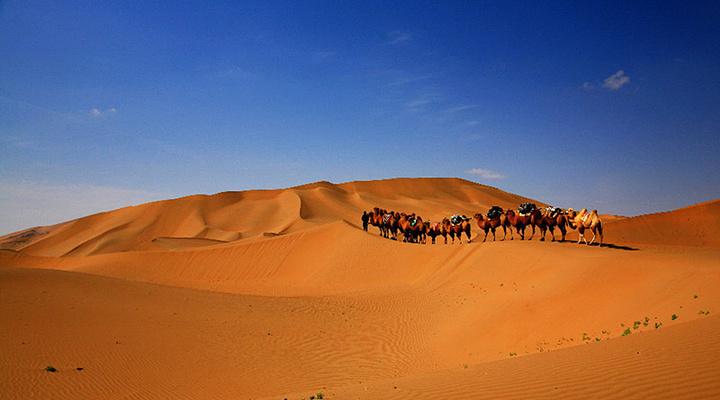 巴丹吉林沙漠旅游图片