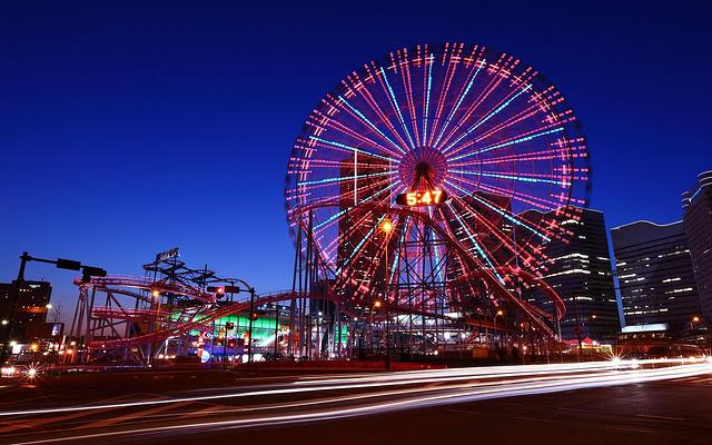 横滨港区未来21世纪街区旅游图片