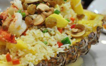 泰式菠萝饭Khao Pad Sub Pa Rod