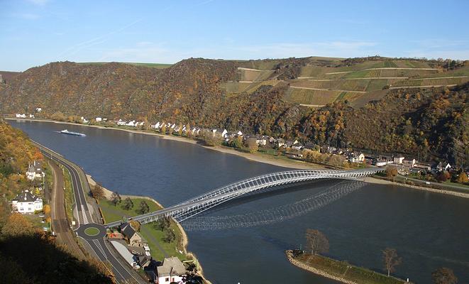 中上游莱茵河河谷旅游图片