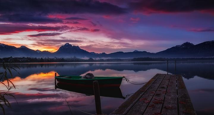 霍普芬湖旅游图片
