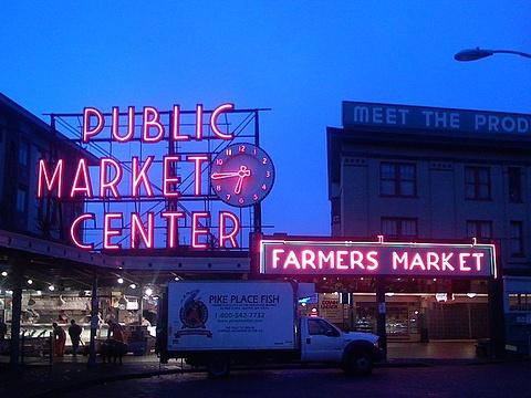 派克市场旅游景点图片