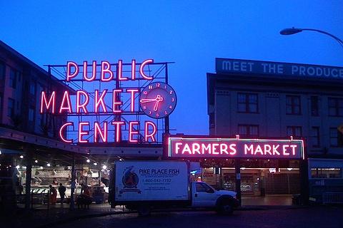派克市场的图片