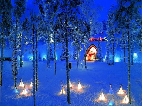 圣诞公园旅游景点图片