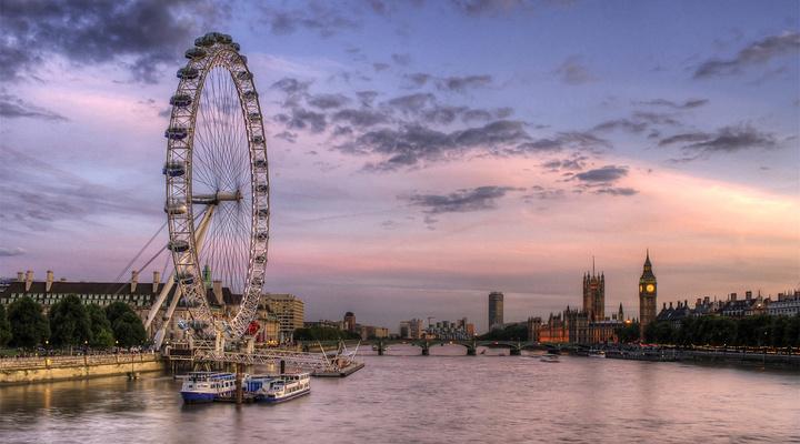 伦敦眼旅游图片
