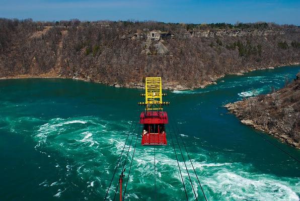 漩涡空中缆车旅游图片