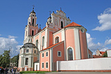 维尔纽斯圣凯瑟琳教堂