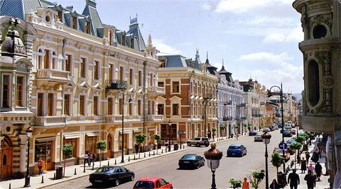 第比利斯主街