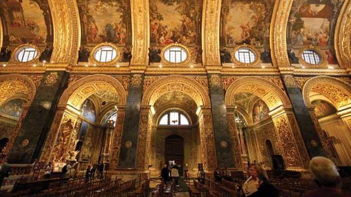 瓦莱塔圣约翰大教堂旅游图片