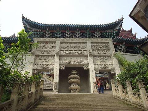重庆磁器口宝轮寺