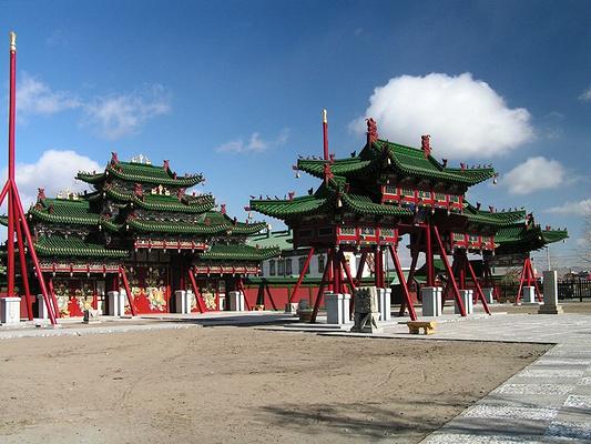 博格多汗宫旅游图片
