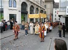 基督圣体节游行(Fronleichnamsprozession)