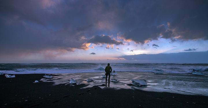 冰湖旅游图片