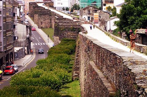 罗马城墙的图片