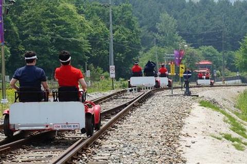 铁路自行车(金裕贞站)