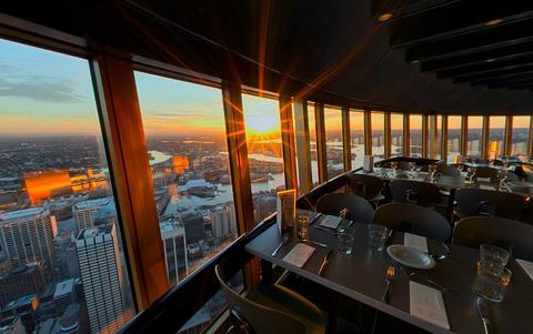 天空塔旋转餐厅