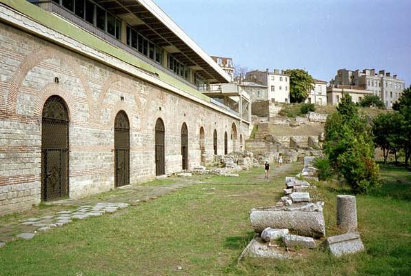 罗马时期马赛克遗址旅游图片