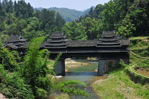 侗寨风雨桥
