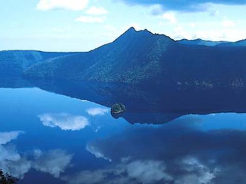 摩周湖旅游景点图片