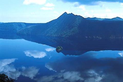 摩周湖的图片