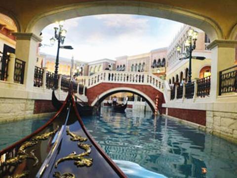 威尼斯贡多拉游船旅游景点图片