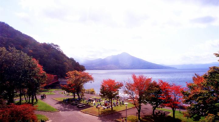 支笏湖观光船旅游图片