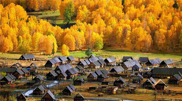 禾木村旅游图片