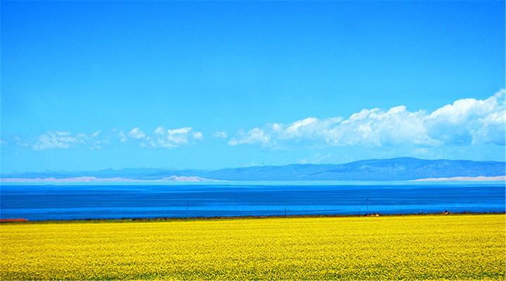 青海湖旅游图片